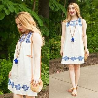 J Crew Linen Dress