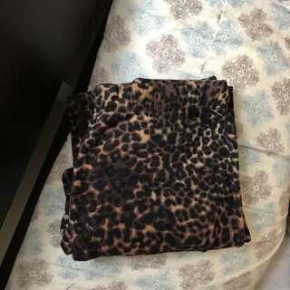 Cheetah Print PJ Pants