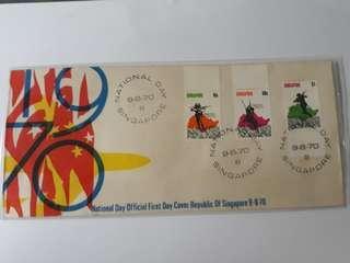 Singapore FDC 1970