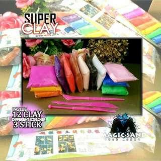 Super clay soft clay new clay