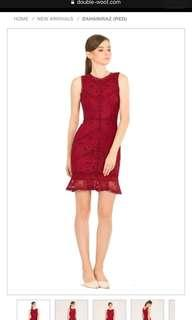 Doublewoot Red Lace Dress