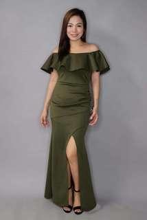 Samantha Off Shoulder Long Dress