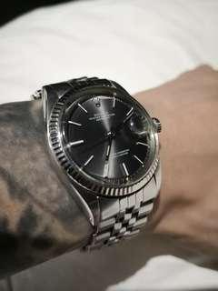 Vintage 60's Rolex 1601 深灰銀面 勞力士
