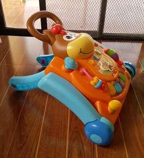 ACTIVITY TABLE/PUSH WALKER