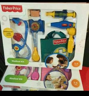 美國直送: Fisher Price - Medical Kit 醫生工具 粉紅套裝
