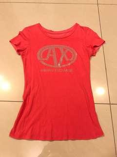 Armani Exchange Signature T shirt