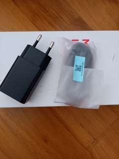 """Brand new """"xiao mi"""" charger and cable"""
