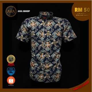 Kemeja/Baju Batik Slim Fit (Ready Stock)