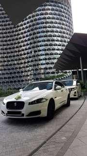 Jaguar + Alphard 2 Car Wedding Package!