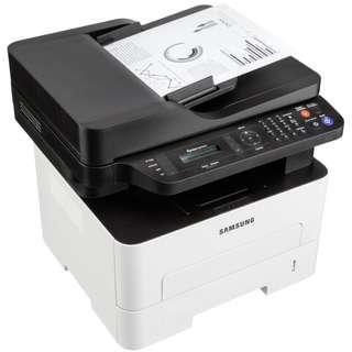 Copier Printer Scanner FAX 4in1 Mono black & White A4 High speed 26 ppm Copy Print +Mobile Print Samsung App +Small Office Solution -Low cost Print Copy +Cheaper Toner Cost