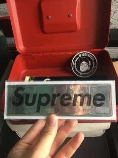 Supreme Plastic-like sticker