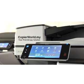 Copier Color  black & White A4 A3size Copier -Copy Print Scan Fax -Laser Digital Print -Office Solution -Network Printer -Network Scanner -PDF Rental Price From Rm99/Month