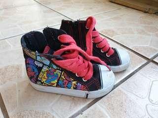Spiderman marvel toddler shoes