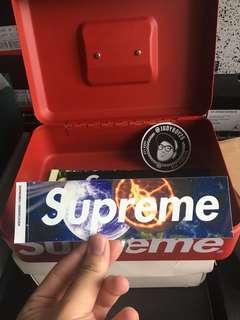 Supreme Planet sticker