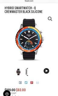 authentic fossil hybrid smartwatch