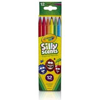 Crayola 12 Ct. Silly Scents Twistables Coloured Pencil