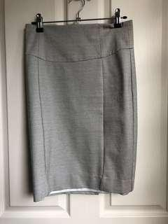 Forcast bodycon work skirt with lining Size 6