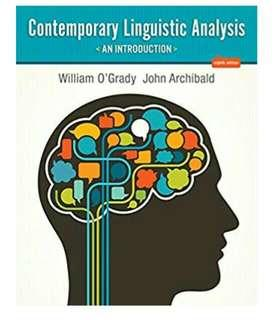 🚚 Contemporary Linguistic Analysis: An Introduction (8th Edition)