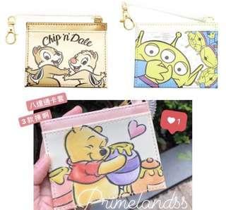 Winnie the pooh/三眼仔/ Chip &Dale 八達通卡套