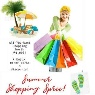 SHOP FOR FREE!