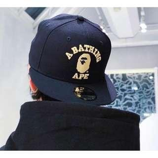 BAPE COLLEGE NEW ERA SNAP BACK CAP 1e92708229b
