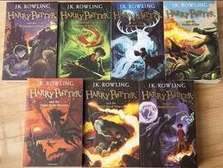 Ready stok-Harry Potter Books 1-7 (UK Version)