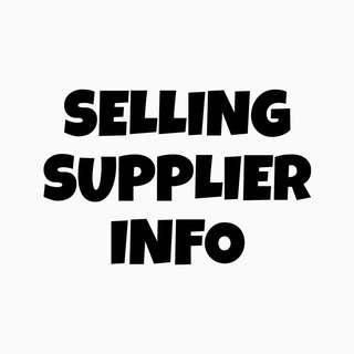 Supplier Info ($3 each, all at $30)