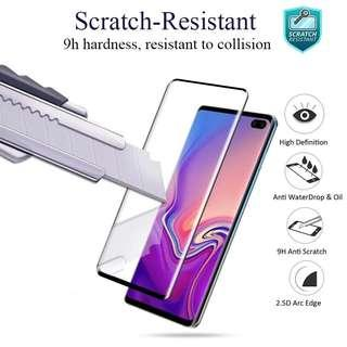 Samsung S10 & S10+ Tempered Glass