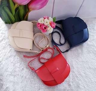 NEW Sling Bag Navy Miniso Lookalike