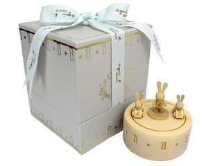 Agnes b delices 木兔 限量 旋轉音樂盒 music box