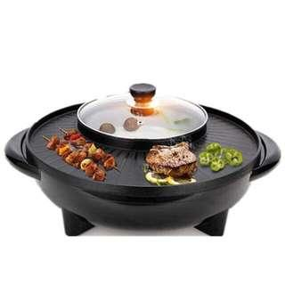 BBQ hot pot steamboat