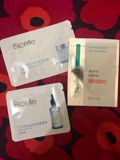 Bicelle mask b5 gel, neostrata bionic lotion (free)
