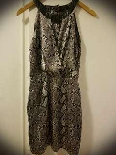 Guess Dress with animal print