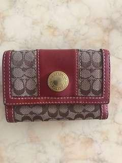 🚚 Coach Leather Wallet