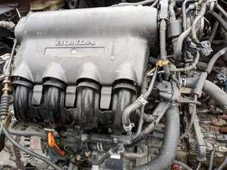 Honda city 2005 engine gearbox and parts.