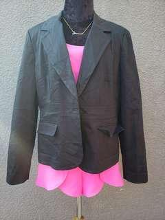 us black blazer coat