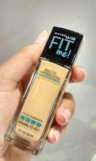 Maybelline Fit Me Matte & Poreless Foundation (Shade 128)