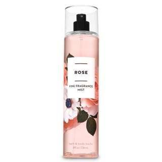 Bath and Body Works Rose Fine Fragrance Mist 236mL