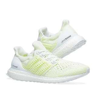 finest selection 9e151 f523f Adidas Ultra Boost Clima White   Solar Yellow