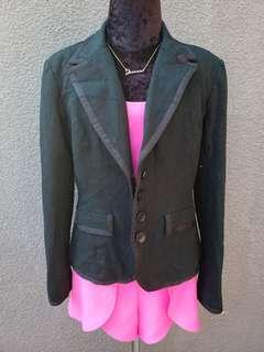 Black Merona Formal blazer coat