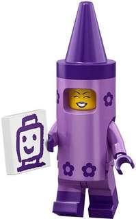 Lego Minifigures Lego Movie 2 71023 No.5 Crayon Girl