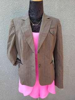 ninewest ladies formal blazer coat