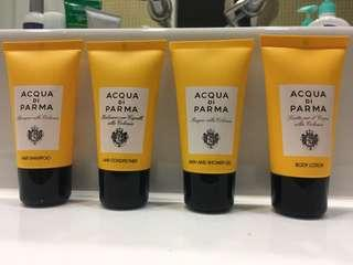 Acqua di Parma Travel Set 旅行套裝 Shampoo Conditioner Bath and Shower gel Body lotion