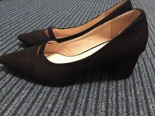 🚚 粗跟鞋