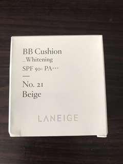 🚚 Laneige BB Cushion Whitening Refill No. 21 Beige