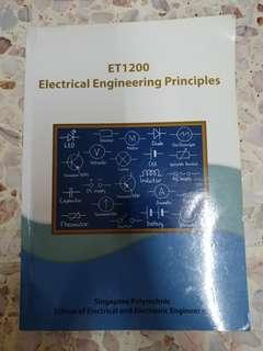 🚚 ET1200 Electrical Engineering Principles (SP) Singapore Polytechnic Textbook