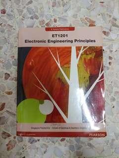 ET1201 Electronic Engineering Principles (SP) Singapore Polytechnic Textbook