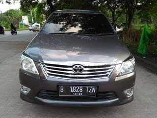 Toyota Innova V 2.0 Metic 2012 Mobil Keluarga Barang Istimewa