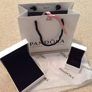 Pandora Charm, Bracelet Boxes and Paper Bags