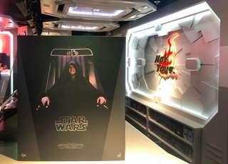 🚚 Hot Toys Emperor Palpatine MMS468
